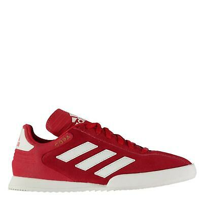 adidas Kids Boys Copa Super Suede Trainers Lace Up Padded Ankle Collar Stripe