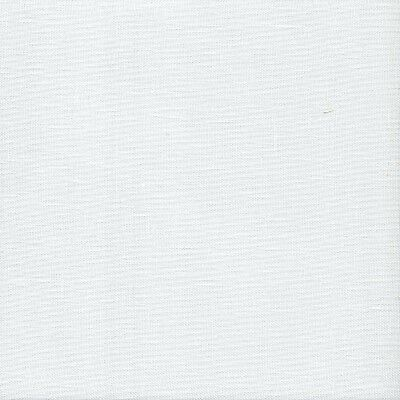 32 count Zweigart Belfast Linen Cross Stitch Fabric Large FQ White 49x84 cm