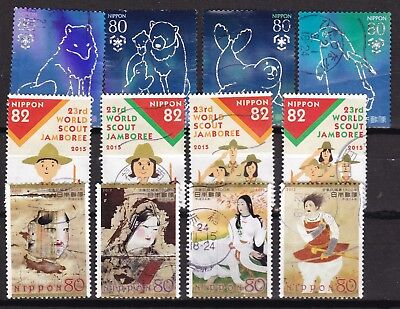 Japan 3 X Different Sets (41) Used
