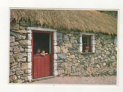 An Irish Cottage Ireland 1989 Postcard 881a