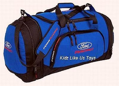 ~ Ford Racing - LARGE SPORT OVERNIGHT BAG & BACKPACK TRAVEL LUGGAGE *Last Few*