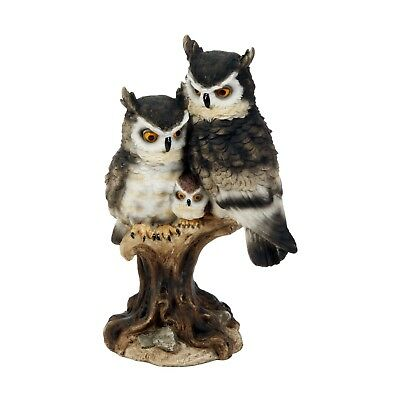 13cm Ornament Figurine Eagle Owl by Juliana Natural World Collection