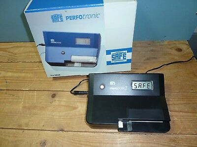 PERFOTRONIC 2 Electronic Perforation Gauge By 'SAFE' With Power Supply WORKING