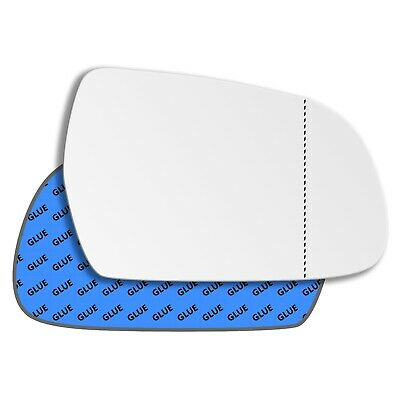 Right Side Wide Angle Heated Mirror Glass for Nissan X-Trail 2000-2007 272RASH