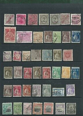 Portugal and Colonies some mounted mint MH and used older stamps