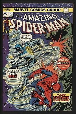 AMAZING SPIDER-MAN #143 1st CYCLONE! VERY GLOSSY VF/NM 9.0 WHITE PAGES