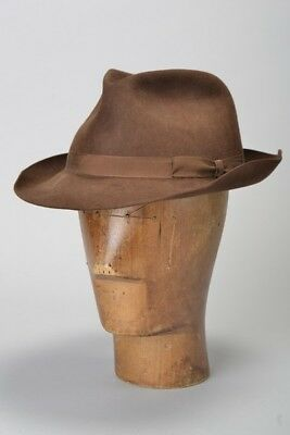 Country Gentleman's 1980s' Christies of London s7 1/8 Felt Trilby Hat. Ref EQT
