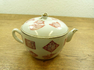 TEEKANNE bemalt China 1888