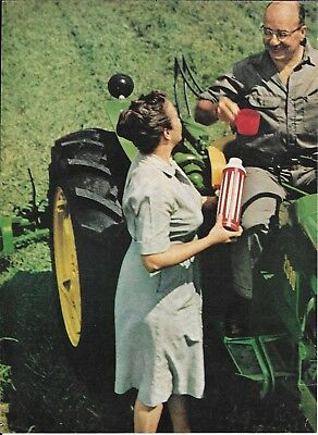 1963 John Deere Tractor You Deserve Each Other Ad