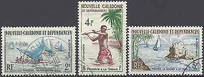 New Caledonia N°302/304 - Obliteration Stamp Has Date