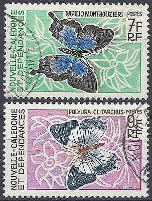 New Caledonia N°341/342 - Obliteration Stamp Has Date