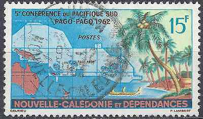 New Caledonia N°305 - Obliteration Stamp Has Date