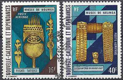 New Caledonia Pa N°142/143 - Obliteration Stamp Has Date