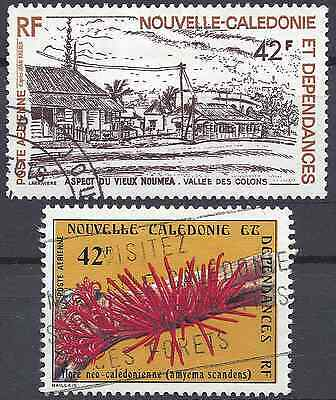 New Caledonia Pa N°183/184 - Obliteration Stamp Has Date