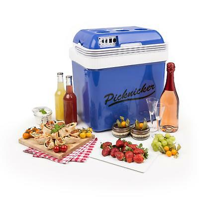 Klarstein Big Picknicker NEVERA PORTATIL CAPACIDAD 24L CLASE A++ AC DC COCHE