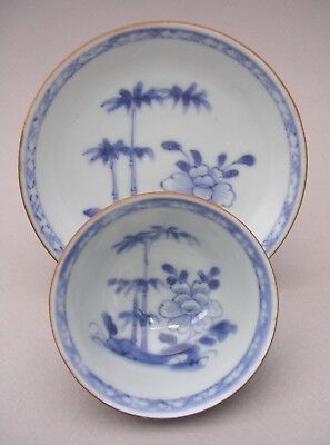 Nanking Cargo -  Chinese Porcelain Tea Bowl And Saucer - Christie's Sale  Label
