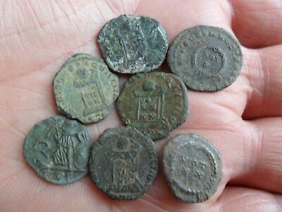 House of Constantine Hoard Group / Purse Loss Roman Coins metal detecting finds