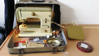 Bernina 600 Electric Sewing Machine in Case with Accessories and Spares