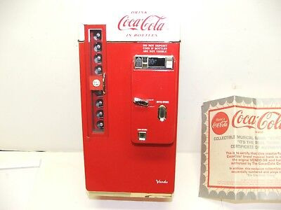 Coca Cola Musical Bank Vending Machine No'd 1994 Highly Collectible Don't Miss