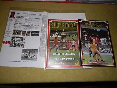 Presentation File of Q.P.R. v Tottenham in 1982 FA Cup Final & Replay