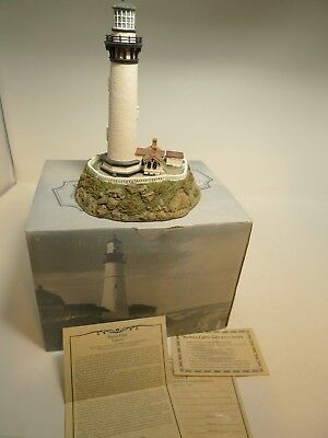 Harbour Lights Lighthouse 1997 Pigeon Point CA CoA Box Limited Ed Signed Younger