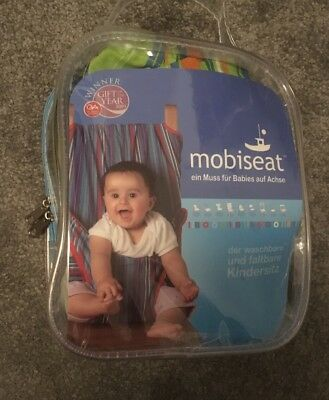 Mobiseat Portable adjustable and washable Fabric Highchair Harness 8 - 30 months