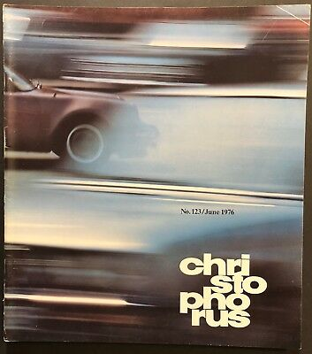 Porsche Christophorus Magazine #123 June 1976   (911 914)