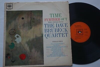 The Dave Brubeck Quartet Time Further Out Miro Reflections LP