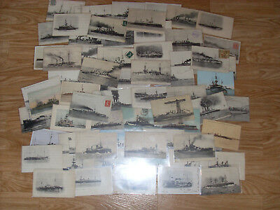 Lot 66 Cpa Marine Militaire  Bateaux  Navires Guerre / Navy Ships War