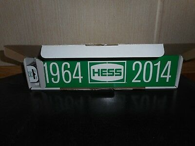 2014 Hess Toy Truck 1964-2014 Anniversary Tanker Mint Condition W/coa
