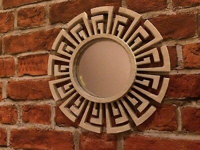 1:12th scale mirror with white painted surround