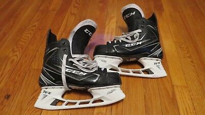Lightly Used CCM Reebok Ribcore 70K Pro Stock Ice Hockey Skates  8.5 D/A Devils
