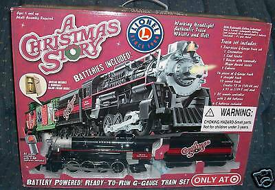 a Christmas Story Lionel Battery Powered G-gauge Train Set Target 2009 for sale online