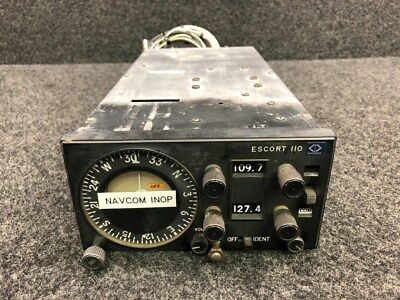 110 Narco Avionics Navigation / Communication Radio w/ Tray (CORE, Volts: 14)