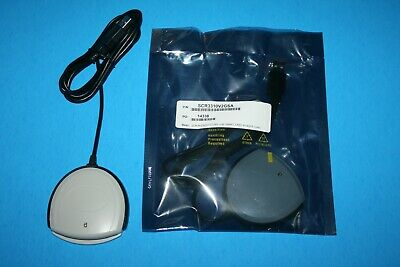 New SCM Microsystems/Idenitive SCR3310 USB DOD Military CAC Smart Card Reader