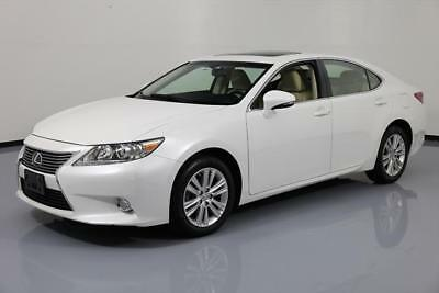2014 Lexus ES 350 Base Sedan 4-Door 2014 LEXUS ES350 SUNROOF REAR CAM CLIMATE SEATS 26K MI #151136 Texas Direct Auto
