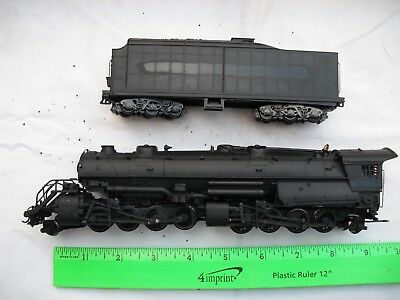BROKEN AHM Rivarossi 5090, 2-8-8-2, Painted, Steam Locomotive, HO Scale - AS IS