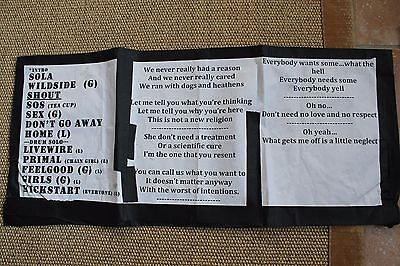 Mick Mars Owned & Used Motley Crue KISS Guitar Setlist Cleveland 2012 Final Tour