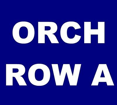 John Prine tickets Tucson Fox Theatre 12/15 *** ORCH, ROW A! ***