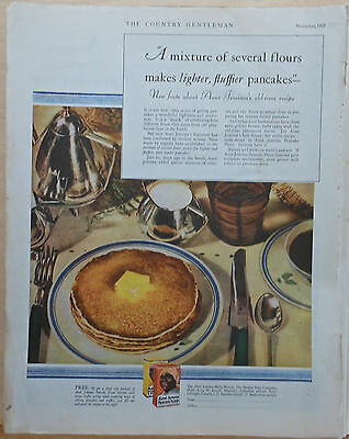 1929 magazine ad for Aunt Jemima pancake mix - New Facts about old-time recipe