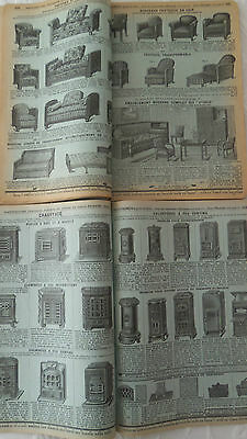 Catalogue 126 p MANUFRANCE 1934 LA MAISON  Machine à coudre meuble déco tennis