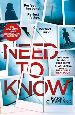 Need To Know: 'You won't be able to put it down!' Shari Lapena, author of THE ,