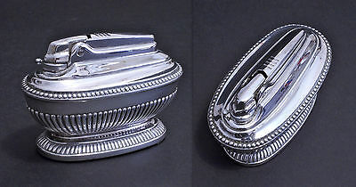 Accendino Ronson Queen Anne Varaflame, Table Lighter Ronson Varaflame - 1960