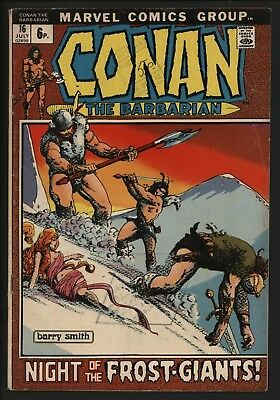 Conan The Barbarian #16  - A Classic From Brit Barry Smith Great Value Copy
