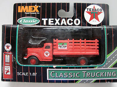 IMEX Classic Texaco Stake Bed Truck NEW IN FACTORY SEALED PACKAGE