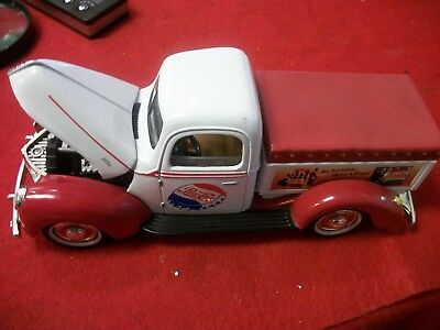 Golden Wheel Pepsi Cola Diecast 1940 Ford Pickup Truck