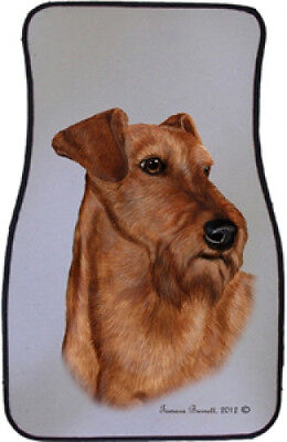 Car Floor Mats Pair - Irish Terrier 36220