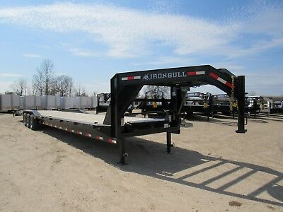 44' X 102 Gooseneck Car Hauler Equipment Trailer--3/7000 Axles--Sir-- Brand New
