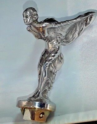 Rolls-Royce Spirit Of Ecstacy/Flying Lady Mascot Genuine Stamped Low base model