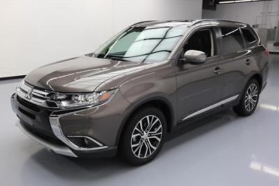 2016 Mitsubishi Outlander  2016 MITSUBISHI OUTLANDER SEL 7-PASS LEATHER SUNROOF 9K #064319 Texas Direct